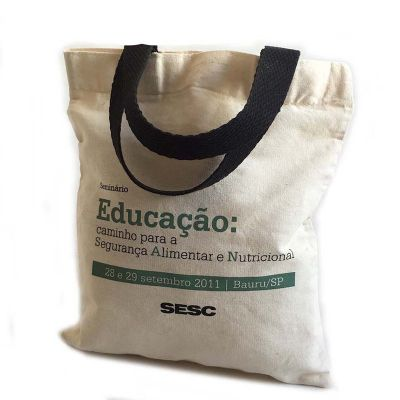 bag-e-packs - Sacola de algodão personalizada.
