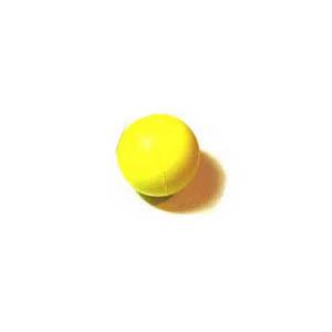 Anti-stress com o formato bolinha, confeccionado em PU. - Need Promocional