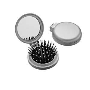 Espelho personalizado com escova. - Need Promocional