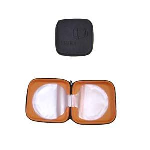 Need Promocional - Porta-cd moldado em EVA, com revestimento em poliéster.