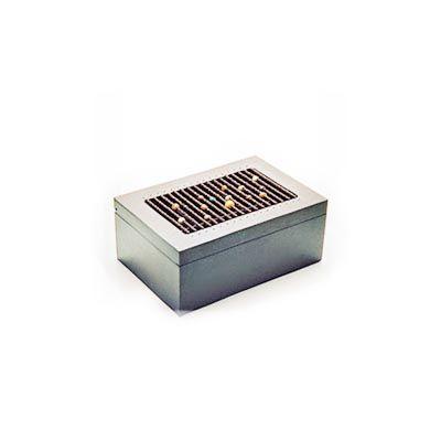 Damatadecor - Caixa com aplica��o de a�ais personalizada.