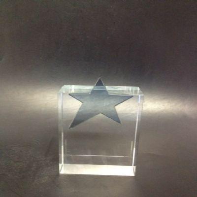 crystallium - Portrait estrela de vidro.