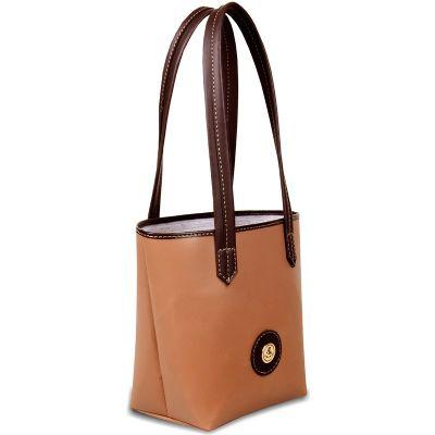 sacola de couro ecológico
