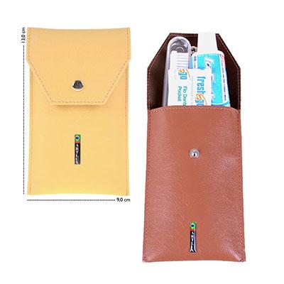Artlux Brindes - Estojo para kit higiene bucal, estojinho para kit higiene bucal