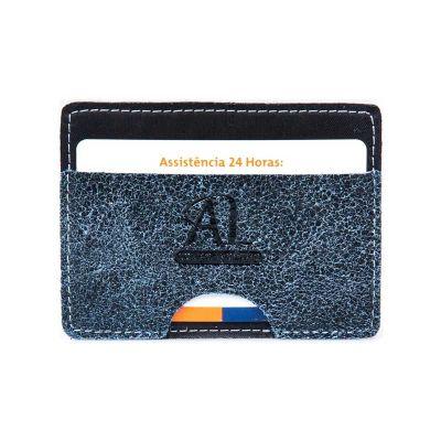 artlux-brindes-de-couro - Porta cartão em couro