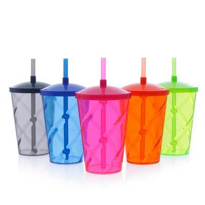 imagine-pack-brindes - Este copo é ideal para personalizar e servir milk-shake e bebidas em geral de  forma elegante e prática. Fabricado com material cristalino, sua transp...