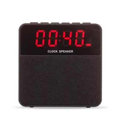imagine-pack-brindes - Caixa de som bluetooth, multifunções com relógio digital