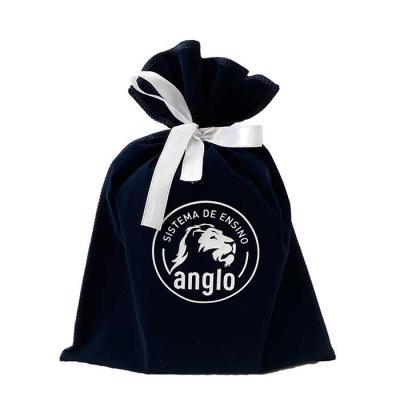 Embalagem em veludo calcutá.  Apresente seu produto com charme e elegância.