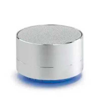 Caixa de som com microfone