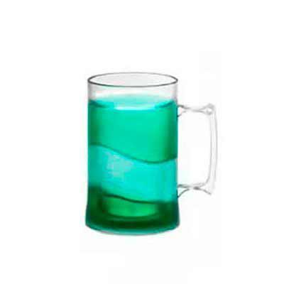 Caneca acrílica de Gel Congelante 450 ml. Altura : 13,5 cm e diâmetro: 9 cm. Cores sujeitas à dis...