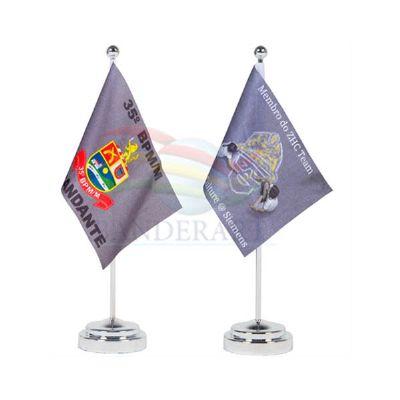 Bandeiras e estandartes de mesa