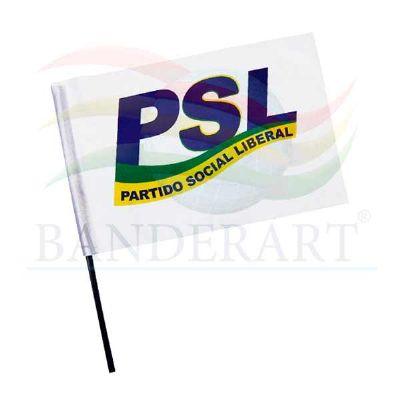 Bandeira para campanha política - Banderart