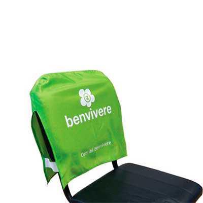 Banderart - Capa para cadeira personalizada na medida 45x40 cm, confeccionada em tecido Duralon® 100% poliéster.