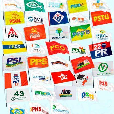 Bandeira político torcedor - Banderart