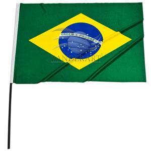 Bandeira modelo torcedor (com ou sem haste)