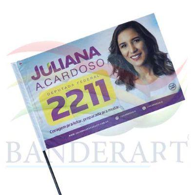 Bandeira Torcedor Político - Banderart