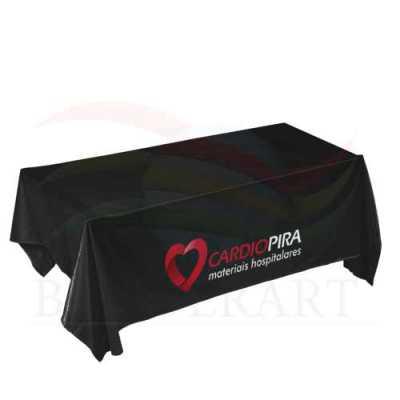 Toalha de mesa personalizada confeccionada em tecido Duralon®100%poliéster, formatos e tamanhos variados, (retangular, quadrada, redonda), estampa dig... - Banderart