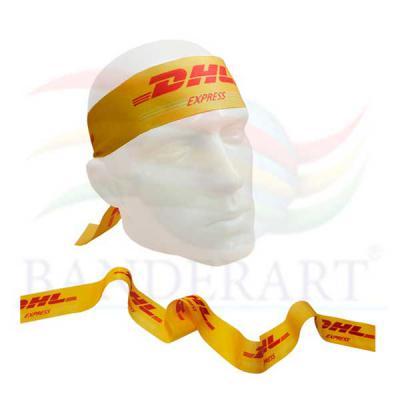 Fita para cabeça promocional confeccionada em tecido Duralon® 3x100cm Fabricado no Brasil. - Banderart