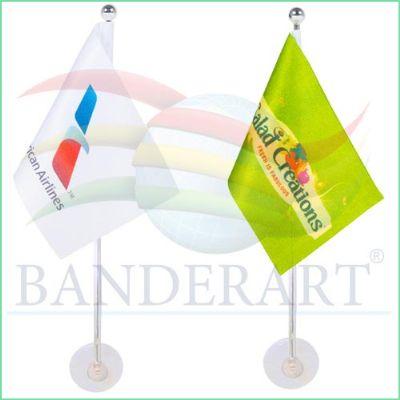 Banderart - Bandeira com haste e ventosa