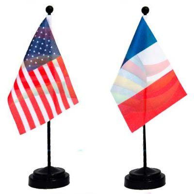 Bandeira de mesa personalizada