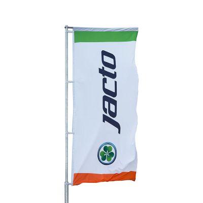 Bandeira personalizada na vertical em tecido Duralon® 1,40x2,50m. - Banderart