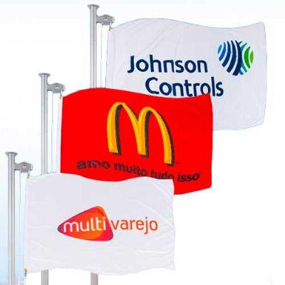 Bandeiras promocionais verticais estampadas - Banderart