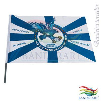 Bandeira de tecido para carro - Banderart