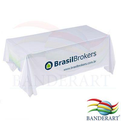 Toalha de mesa personalizada, estampa digital em alta resolução, confeccionada no tecido duralon® 100% poliéster