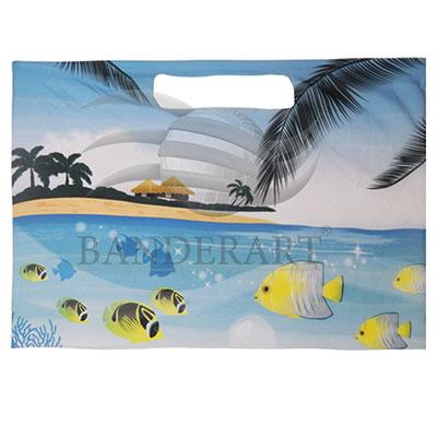 banderart - Canga de praia / piscina - confeccionada em tecido especial Softlon 100% poliéster estampadas por processo digital em alta definição e em toda área