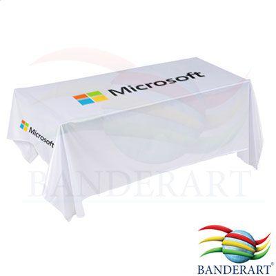 Banderart - Toalhas de mesa promocionais. Confeccionadas no tecido duralon® 100% poliéster, estampa digital em alta resolução