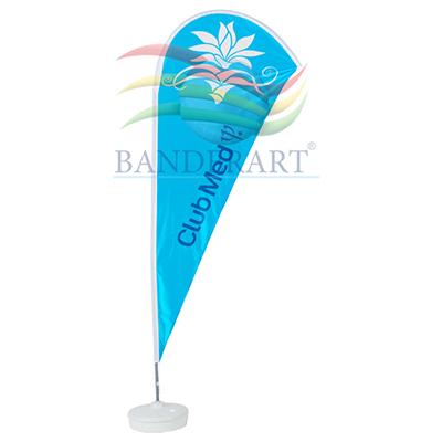 Banderart - Windbanners� confeccionados no tecido Duralon� 100% poli�ster.