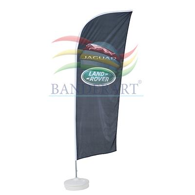 Banderart - Windbanners� confeccionados no tecido Duralon� 100% poli�ster,