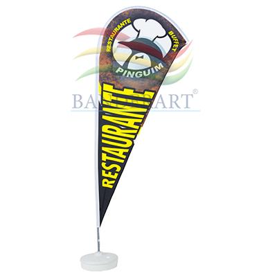 banderart - Windbanners® confeccionados no tecido Duralon® 100% poliéster