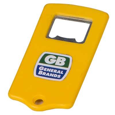 Still Promotion - Abridor de Garrafa em plástico na cor amarela