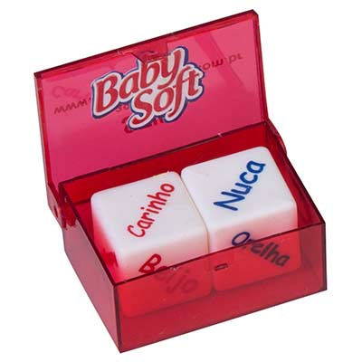 Still Promotion - Dado do amor, Tamanho da Caixa: 2,3cm x 3,7cm x 5,3cm