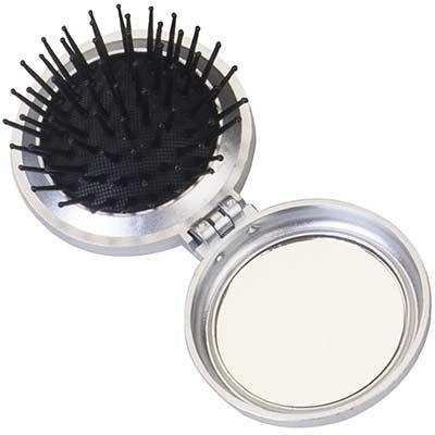 still-promotion - Escova com espelho. Tamanho: 6,0 cm x 6,0 cm