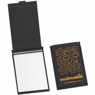 still-promotion - Espelho de Bolsa Retangular. Tamanho: 8,5 cm x 5,5 cm