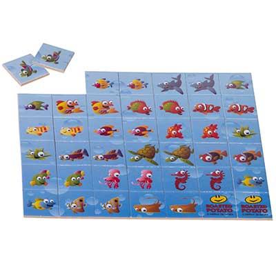 Still Promotion - Jogo da Memória, Tamanho: 20cm x 17,5cm, Tamanho em cada Peça 3cm x 3 cm