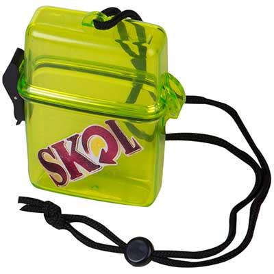 still-promotion - Mariner Plástico retangular - Porta trecos com cordão. Tamanho: 11,5cm x 9,5cm x 2,5cm