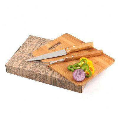 Ashtar Brindes - Kit churrasco personalizado com 3 itens