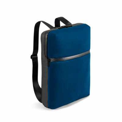 lamarca-brindes - Mochila para notebook. Soft shell de alta densidade e c. sintético. Com 2 compartimentos. Compartimento posterior forrado, para notebook até 17'', com...