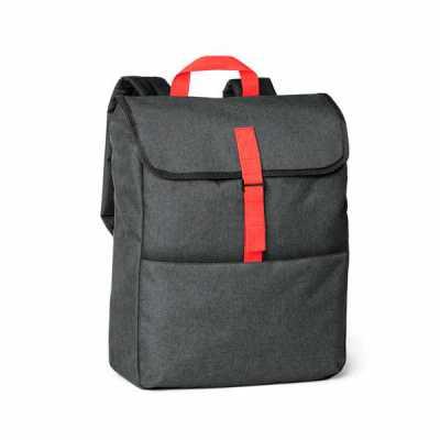 """lamarca-brindes - Mochila para notebook. 600D de alta densidade. Compartimento principal com divisória almofadada para notebook até 15.6"""". Bolso frontal com zíper. Part..."""