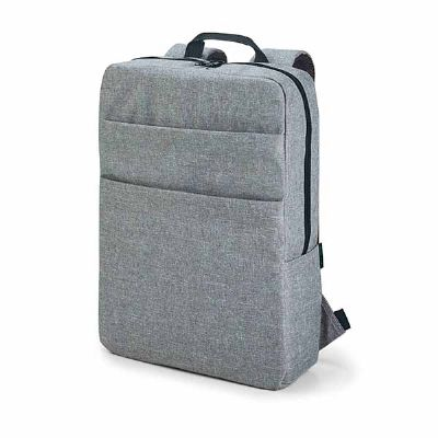 - Mochila para notebook. 600D de alta densidade. Compartimento para notebook 15.6''. Interior forrado e almofadado. Com bolsos frontais. 295 x 390 x 100...