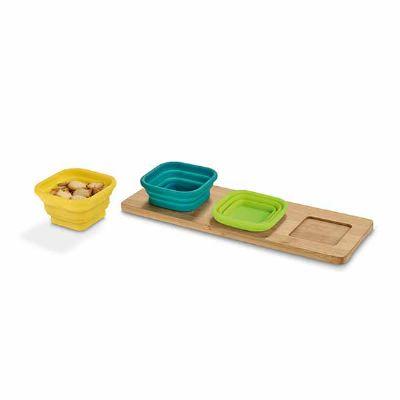 Lamarca Brindes - Base de mesa com 3 potes