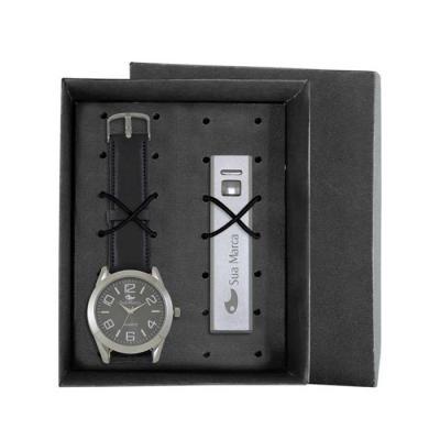 5148e62a910 Relógios personalizados   Tradicionais - Pulseira couro sintético ...
