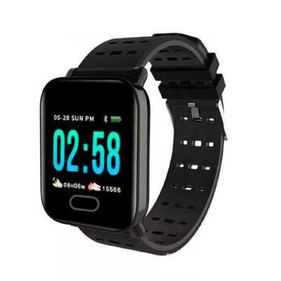lamarca-brindes - SmartWatch M6 - relógio de pulso Smart Watch multifunções