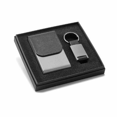 lamarca-brindes - Kit porta cartões e chaveiro