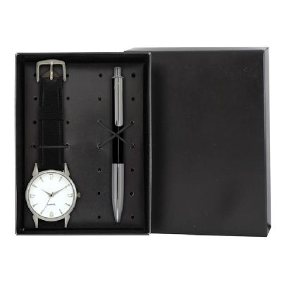 lamarca-brindes - Kit relógio e caneta com gravação