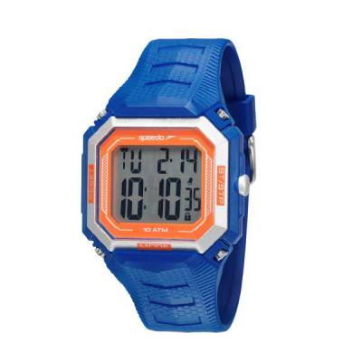 lamarca-brindes - Relógio de pulso Speedo, digital, pulseira de borracha, resistente a água, certificado de garantia e embalagem individual.