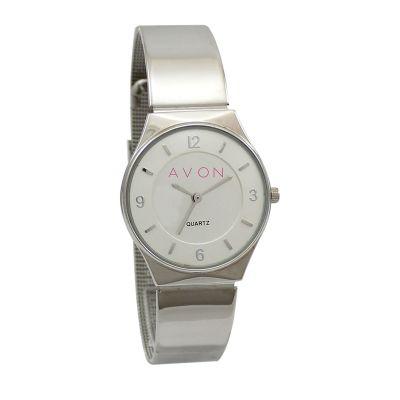 Lamarca Brindes - Relógio de pulso com mostrador cinza.